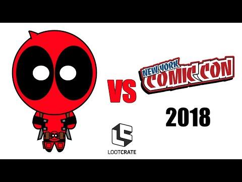 Deadpool vs New York Comic Con 2018