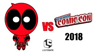 Deadpool vs New York Comic Con 2018