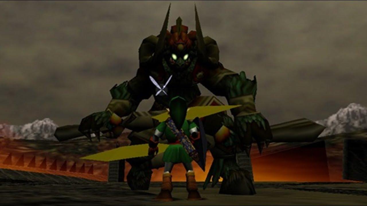 Breath Of The Wild Bosses >> Top 10 - Hardest Zelda Bosses - YouTube