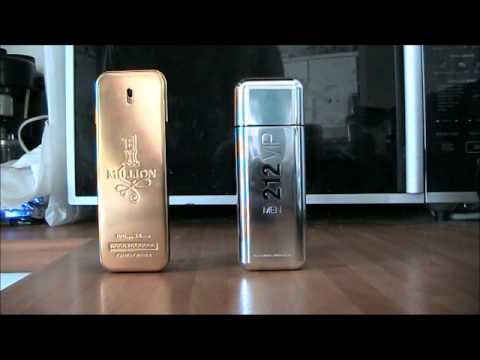 Fragrance VERSUS - 1 Million VS 212 VIP Men