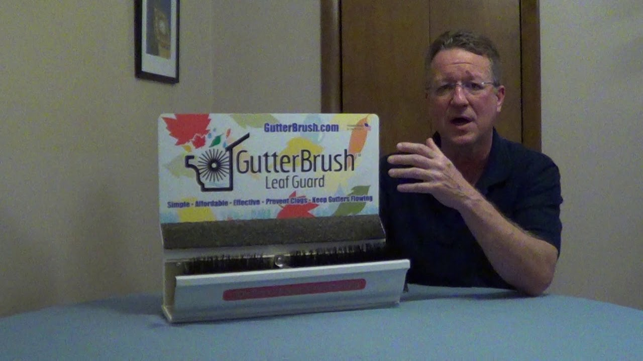 Keep Insects And Birds Out Of Gutter Gutter Guard Youtube
