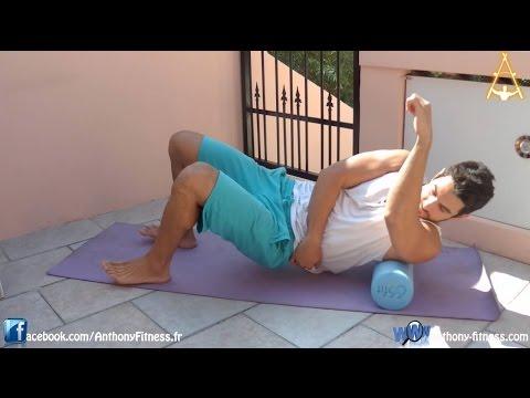 le rouleau de massage foam roller quand et comment l 39 utiliser youtube. Black Bedroom Furniture Sets. Home Design Ideas