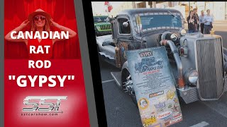 RAT ROD CUSTOM TRUCK AT SEMA AUTO SHOW LAS VEGAS