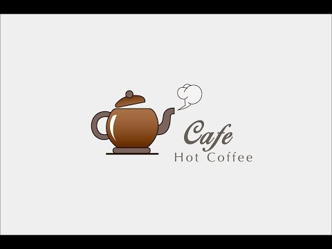 Illustrator Tutorial Professional Logo Design ( Cafe Logo )