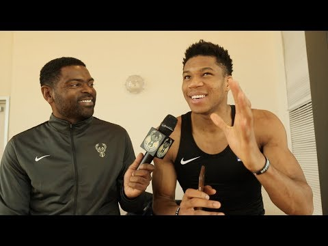 Giannis On His NIKE Deal, Upcoming Shoe & Bucks West Coast Road Trip