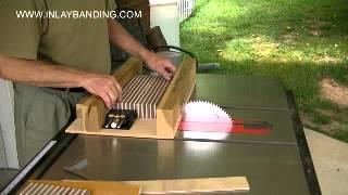 Making Wood Inlaybanding, Part 1 Of 2