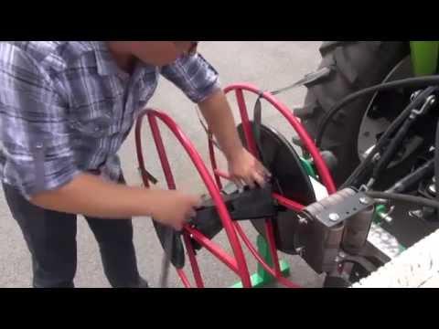 видео: Капельное орошение Намотчик ленты