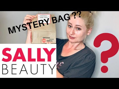 SALLY BEAUTY MYSTERY BAG??? | $15 HAIR CARE MYSTERY BAG | WHAT'S IN THE BAG??