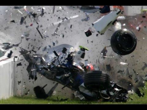 Формула-1. Страшная авария на Гран-при Австралии (2016)