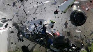 Формула-1. Страшная авария на Гран-при Австралии (2016)(Серьезная авария с участием пилота McLaren Фернандо Алонсо и гонщика команды Haas Эстебана Гуттьерреса автомоби..., 2016-03-20T15:33:10.000Z)