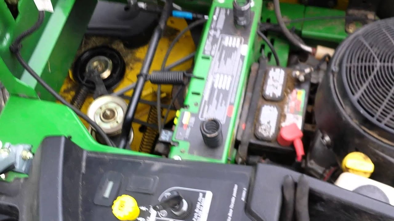 John Deere Z425 Mower Wiring Diagram Bosch 24v Alternator Won 39t Start Youtube