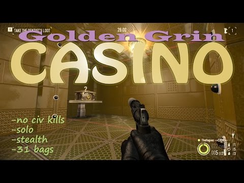Payday 2 Casino DW Solo Stealth - No Civ Kills [Gameplay]