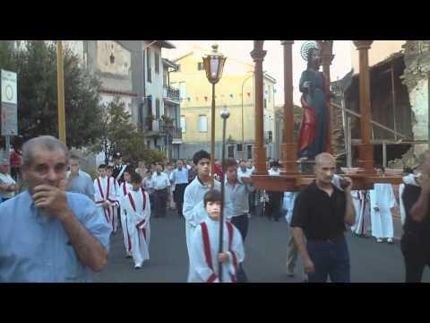 Meana Sardo: Processione per la festa di S.Bartolomeo