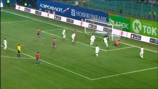 ЦСКА-Уфа 5:0. Голы и опасные моменты