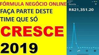 Fórmula Negócio Online -O FNO Funciona Mesmo Eu Garanto 2019-Canal Fórmula Negócio Online Por Dentro