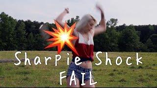 sharpie shock challenge fail   maddie welborn