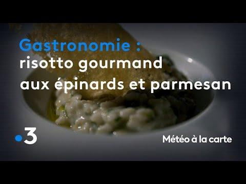 gastronomie-:-risotto-gourmand-aux-épinards-et-parmesan---météo-à-la-carte