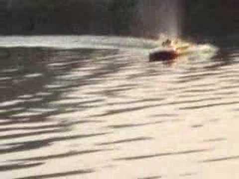 aeromarine sprint cat /cyclone/cto3 gas rc boat