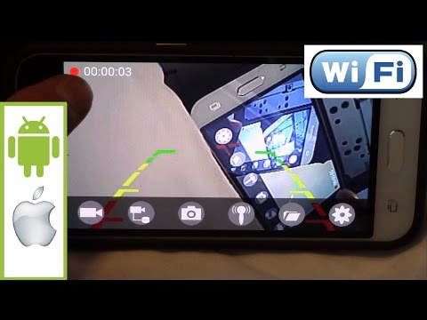 Wifi Car Backup Camera Transmitter For Android Or Apple WIFI AVIN