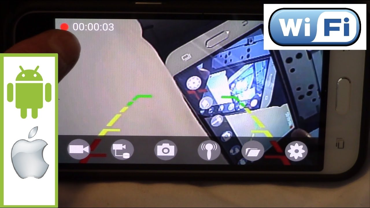 Car Backup Camera >> Wifi Car Backup Camera Transmitter for Android or Apple WIFI AVIN - YouTube