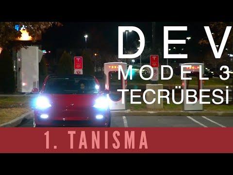 MODEL 3 ile UZUN YOL! - En kapsamlı Türkçe Model 3 Vlog - 1. BÖLÜM