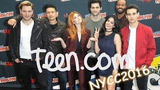 Shadowhunters at NYCC 2016 via teen.com