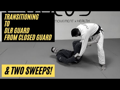 Closed guard attacks // Transitioning to Dela Riva guard & Sit up sweeps