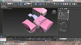 3Ds MAX. Модификаторы объектов. Онлайн курс по изучению 3Ds MAX, урок 2. Видео уроки для новичков.