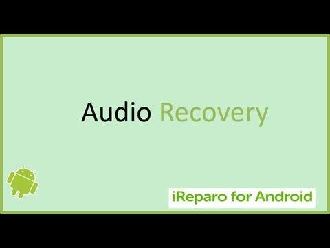 How to recover deleted audio, music, voice memos, call recordings on Android