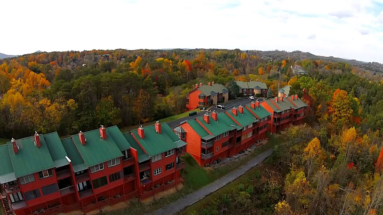 fall at hidden mountain resort - youtube