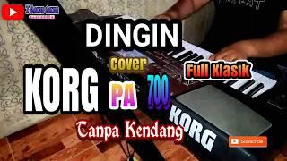 DINGIN  KARAOKE Cover  TANPA KENDANG