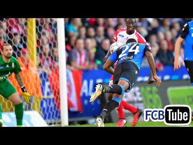 2017-2018 - Jupiler Pro League - 06. Royal Excel Mouscron - Club Brugge 2-1