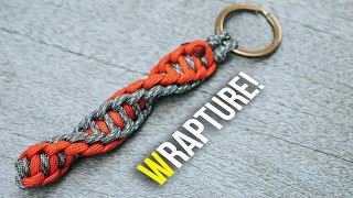 🧬Double DNA! WRAPTURE Paracord Keychain | TUTORIAL