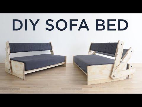 DIY Sofa Bed