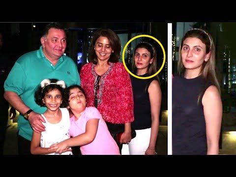 Ranbir Kapoor's Sister Riddhima With Rishi Kapoor & Neetu Singh