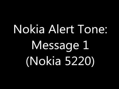 Nokia Alert Tone - Message 1 (Nokia 5220)