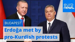 Turkey's Erdoğan will be met by pro-Kurdish protests on visit to Orbán