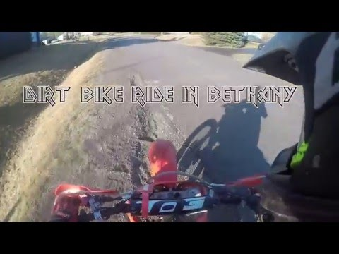 Dirt Biking in Bethany