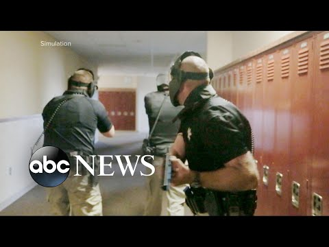 US schools teach students safety plans for shootings