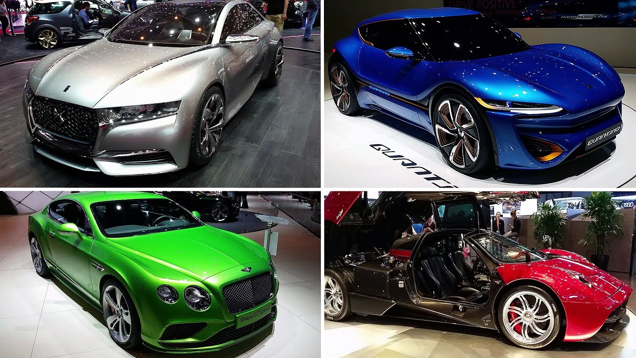 Les plus belles voitures du salon de gen ve 2015 top 50 for Salon de voiture