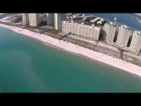 Drone Flight over Navarre Beach Fishing Pier