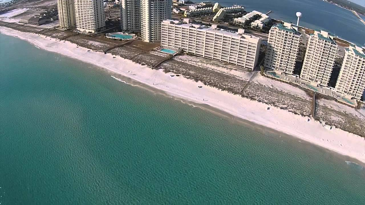 Drone flight over navarre beach fishing pier youtube for Navarre beach fishing pier