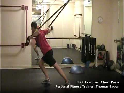 TRX Chest Press Exercise | Seattle Athletic Club Downtown