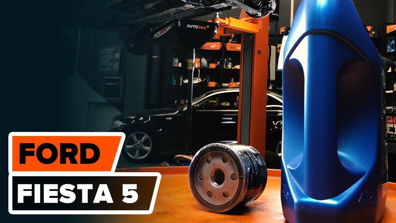 Como Substituir Oleo De Motor E Filtro De Oleo No Ford Fiesta  Tutorial