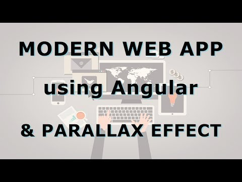 0022 - 🔮 Building a modern Angular application with Parallax effect