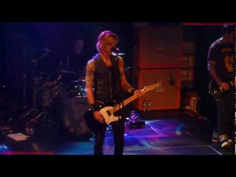 Duff McKagan's Loaded – So Fine Live at The Academy Dublin Ireland 3 Nov 2012