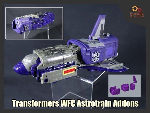 New Transformers Matrix Workshop 3D M-23B Upgrade kit for siege Astrotrain tail