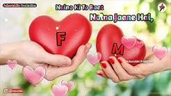 F Love M / status /WhatsApp (love by F M)