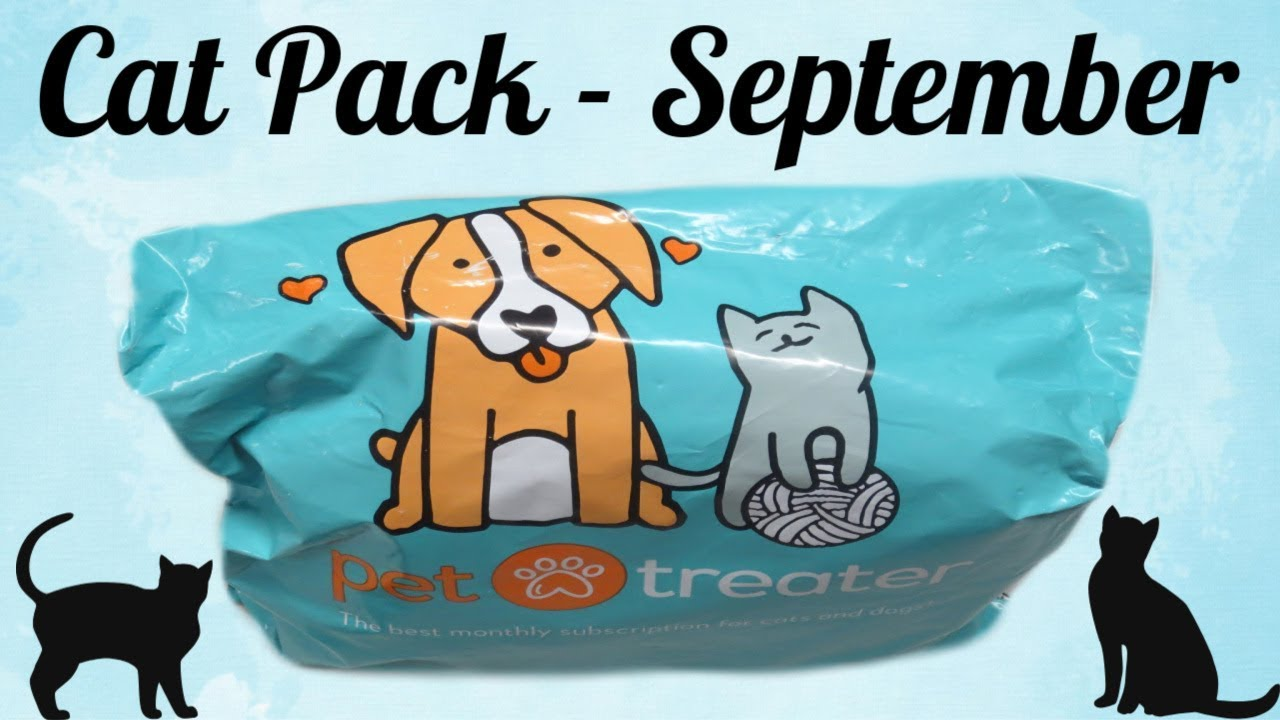 Pet Treater - Cat Pack September 2018!