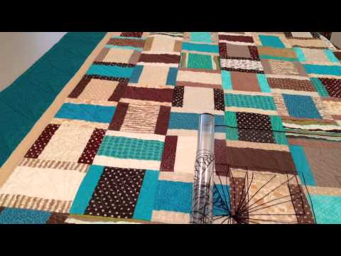 Teal Basket Weave Quilt YouTube Enchanting Basket Weave Quilt Pattern